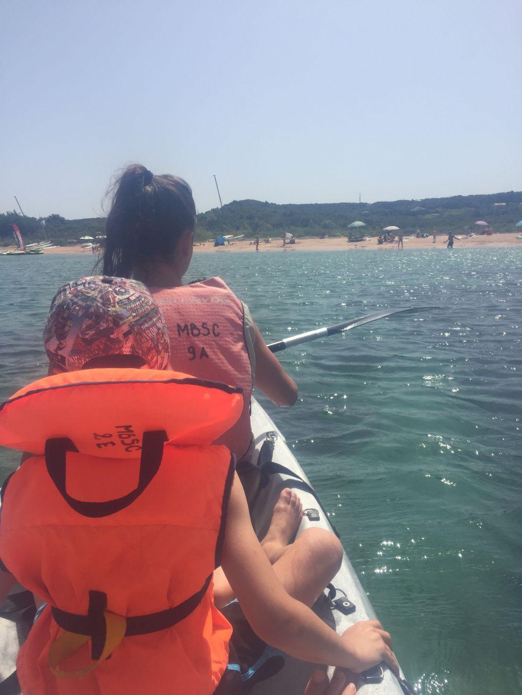 Kayak à SantaManza