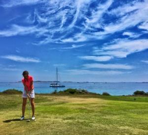 Jouer au golf à Bonifacio