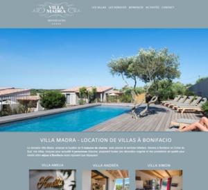 Bienvenue sur le nouveau site des Villas Madra