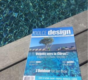 Villa Madra à l'honneur dans Dolce Design